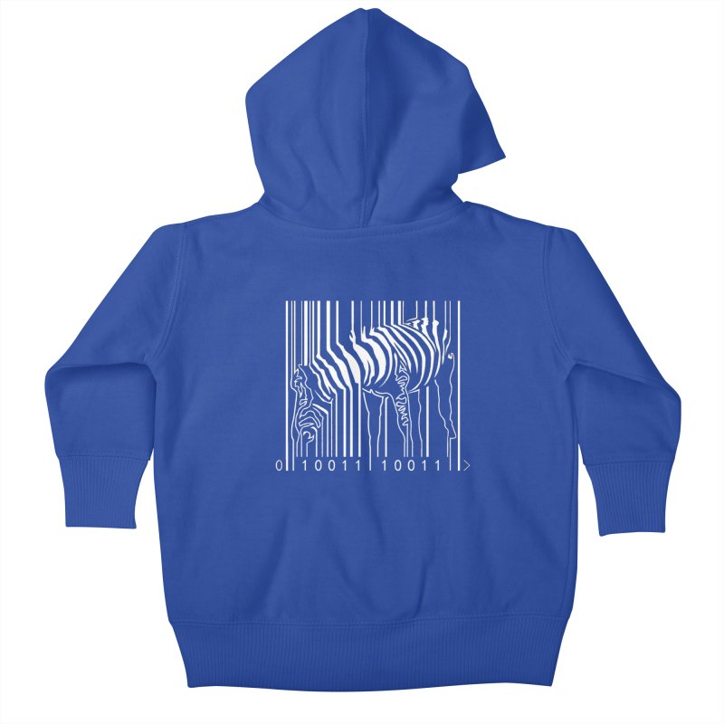 Zebra Barcode   by Mike's Artist Shop
