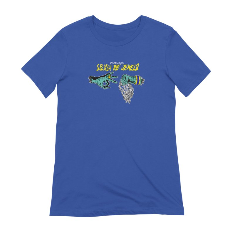 Splash The Jewels Women's T-Shirt by Mike Hampton's T-Shirt Shop