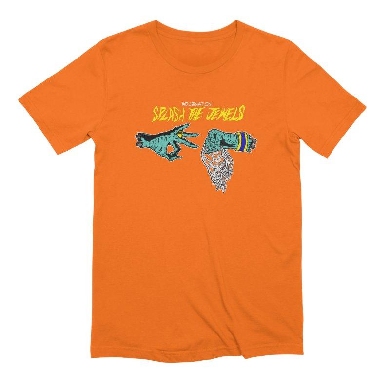 Splash The Jewels Men's Extra Soft T-Shirt by Mike Hampton's T-Shirt Shop