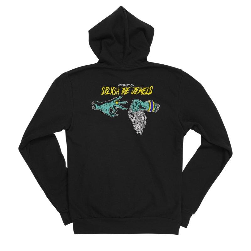 Splash The Jewels Men's Sponge Fleece Zip-Up Hoody by Mike Hampton's T-Shirt Shop