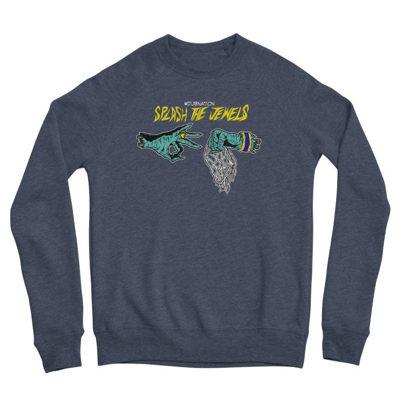 Splash The Jewels Men's Sponge Fleece Sweatshirt by Mike Hampton's T-Shirt Shop