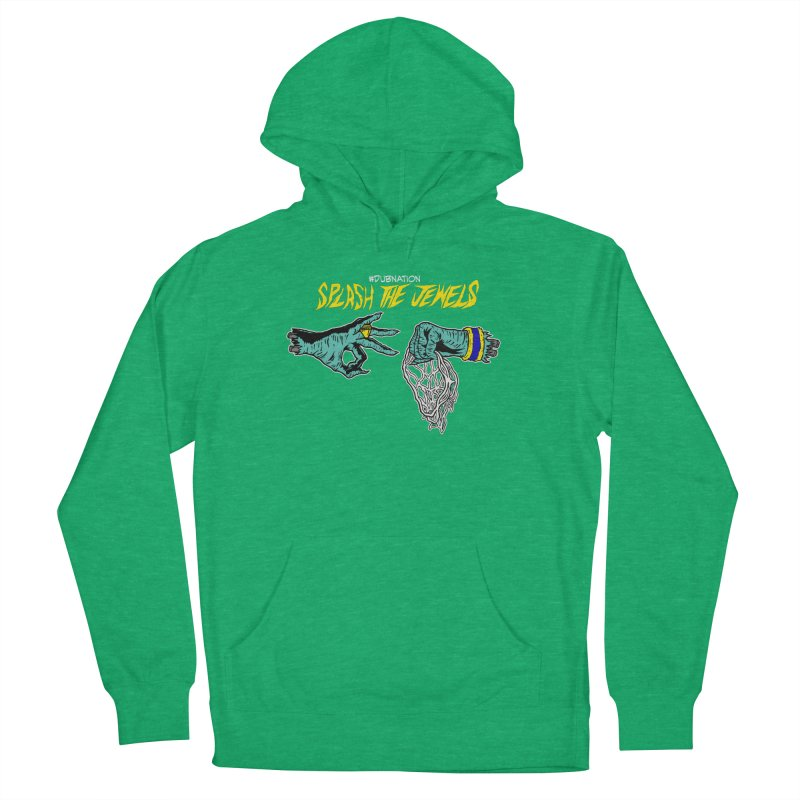 Splash The Jewels Women's French Terry Pullover Hoody by Mike Hampton's T-Shirt Shop