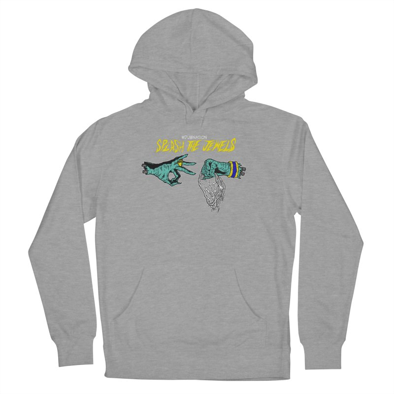 Splash The Jewels Men's French Terry Pullover Hoody by Mike Hampton's T-Shirt Shop
