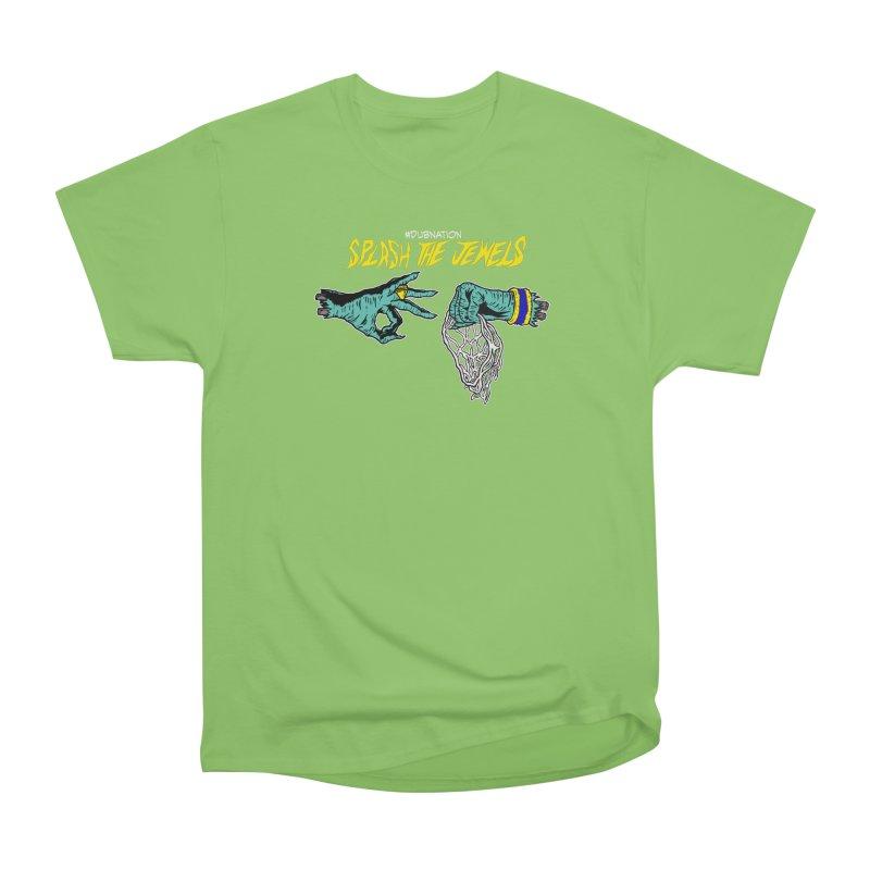 Splash The Jewels Men's Heavyweight T-Shirt by Mike Hampton's T-Shirt Shop