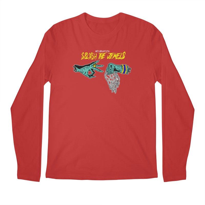 Splash The Jewels Men's Regular Longsleeve T-Shirt by Mike Hampton's T-Shirt Shop