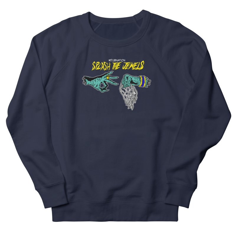 Splash The Jewels Women's French Terry Sweatshirt by Mike Hampton's T-Shirt Shop