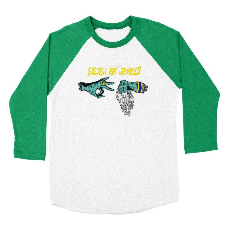 Splash The Jewels Women's Baseball Triblend Longsleeve T-Shirt by Mike Hampton's T-Shirt Shop