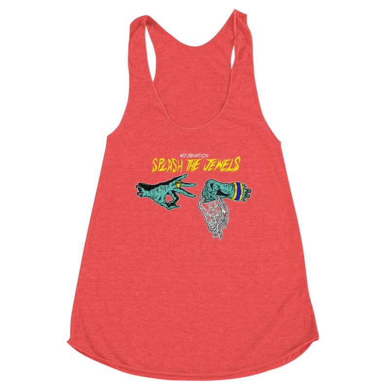 Splash The Jewels Women's Tank by Mike Hampton's T-Shirt Shop