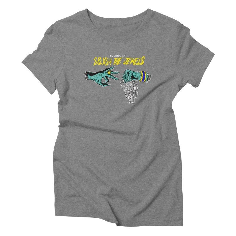 Splash The Jewels Women's Triblend T-Shirt by Mike Hampton's T-Shirt Shop