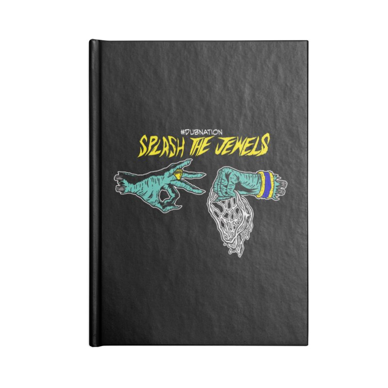 Splash The Jewels Accessories Lined Journal Notebook by Mike Hampton's T-Shirt Shop