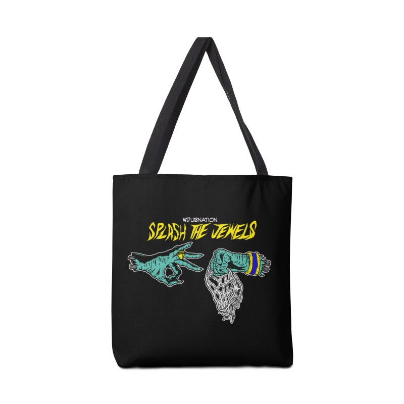 Splash The Jewels Accessories Tote Bag Bag by Mike Hampton's T-Shirt Shop
