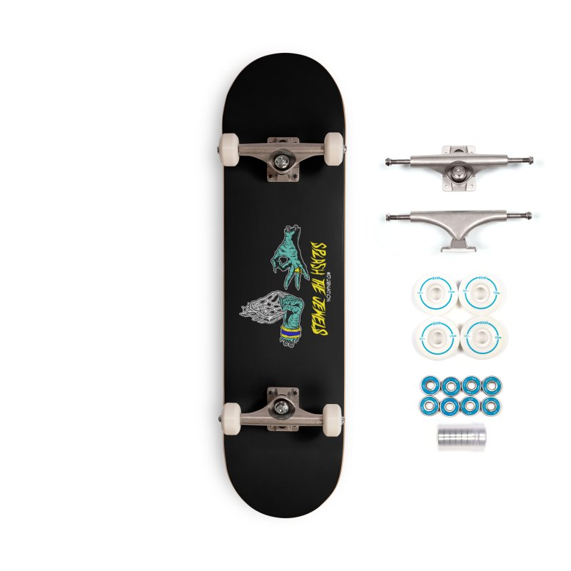 Splash The Jewels Accessories Complete - Basic Skateboard by Mike Hampton's T-Shirt Shop