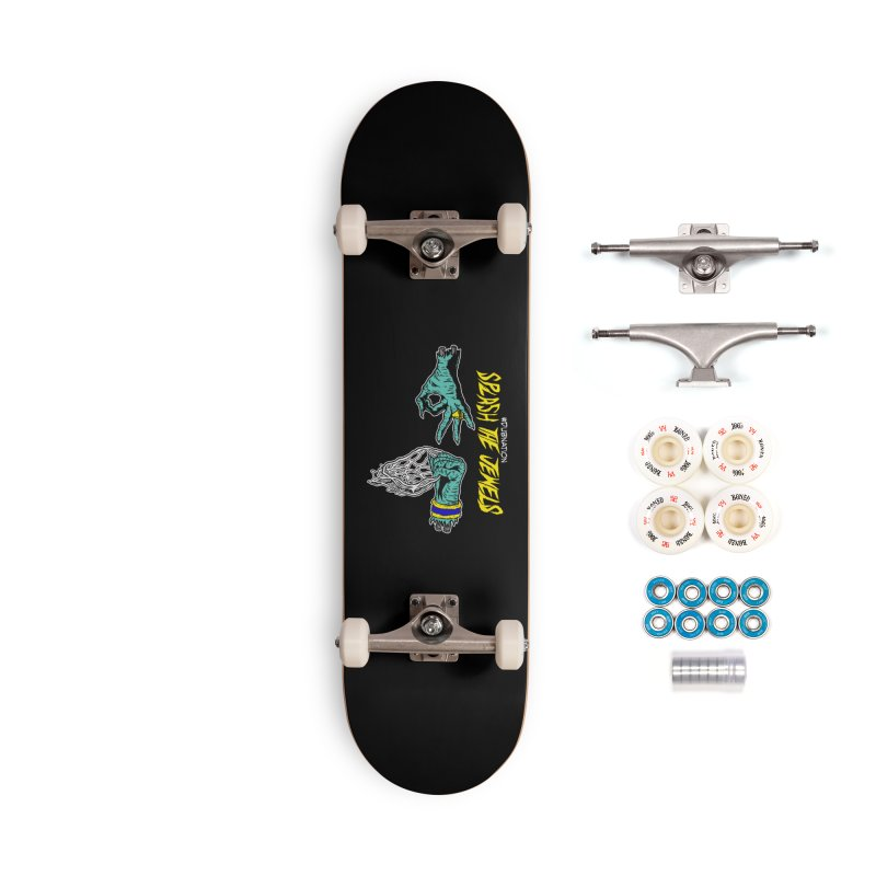 Splash The Jewels Accessories Complete - Premium Skateboard by Mike Hampton's T-Shirt Shop