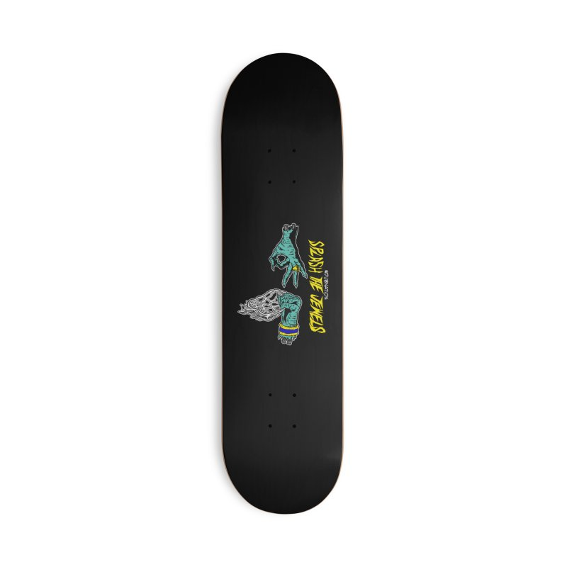 Splash The Jewels Accessories Deck Only Skateboard by Mike Hampton's T-Shirt Shop