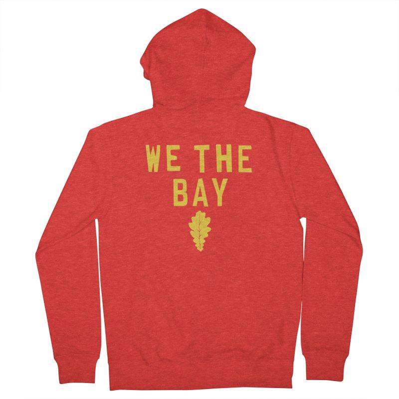 We The Bay Women's Zip-Up Hoody by Mike Hampton's T-Shirt Shop
