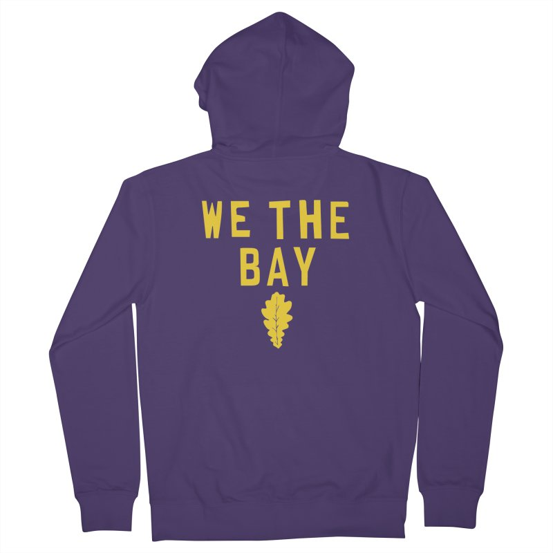 We The Bay Women's French Terry Zip-Up Hoody by Mike Hampton's T-Shirt Shop
