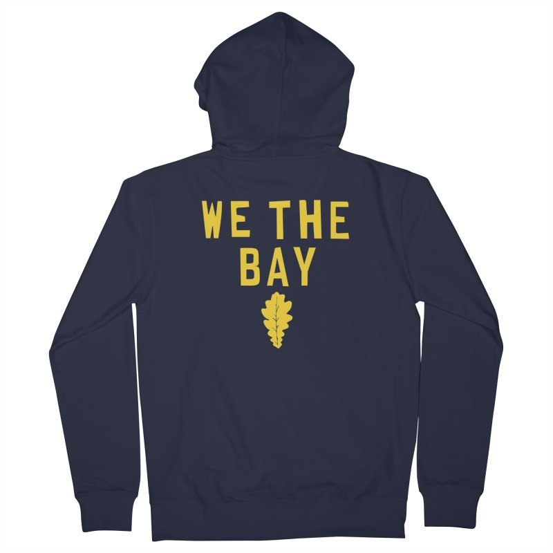 We The Bay Women's Zip-Up Hoody by Mike Hampton's T-Shirt Shop