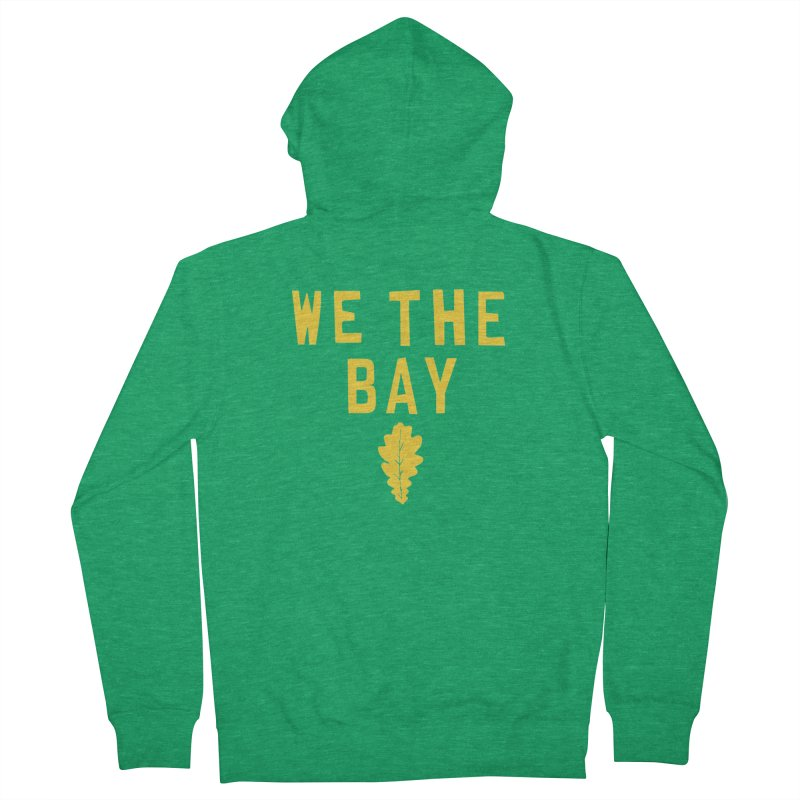 We The Bay Men's Zip-Up Hoody by Mike Hampton's T-Shirt Shop