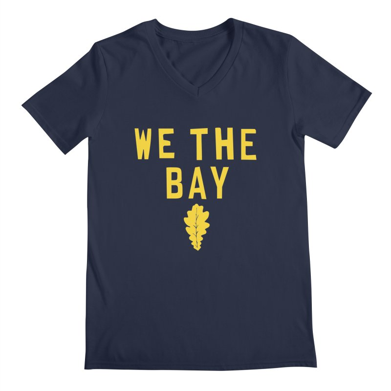 We The Bay Men's V-Neck by Mike Hampton's T-Shirt Shop