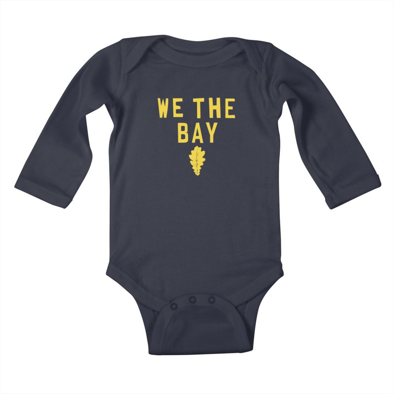 We The Bay Kids Baby Longsleeve Bodysuit by Mike Hampton's T-Shirt Shop