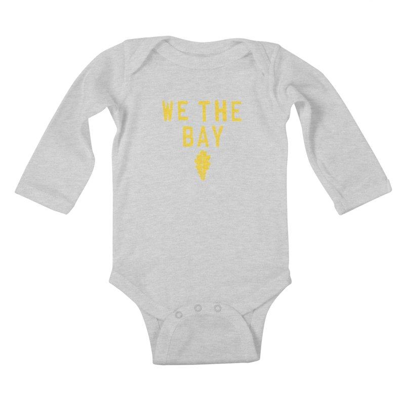 We The Bay Kids Baby Longsleeve Bodysuit by Mike Hampton's T-Shirt Shop
