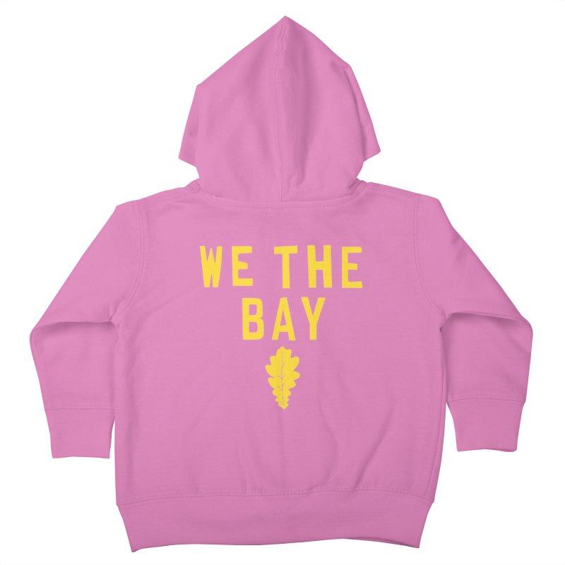We The Bay Kids Toddler Zip-Up Hoody by Mike Hampton's T-Shirt Shop