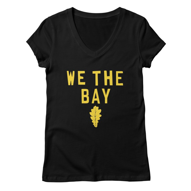 We The Bay Women's V-Neck by Mike Hampton's T-Shirt Shop