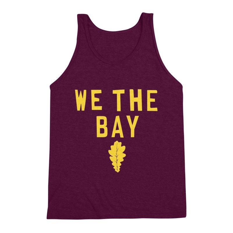 We The Bay Men's Triblend Tank by Mike Hampton's T-Shirt Shop