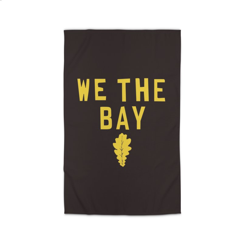 We The Bay Home Rug by Mike Hampton's T-Shirt Shop