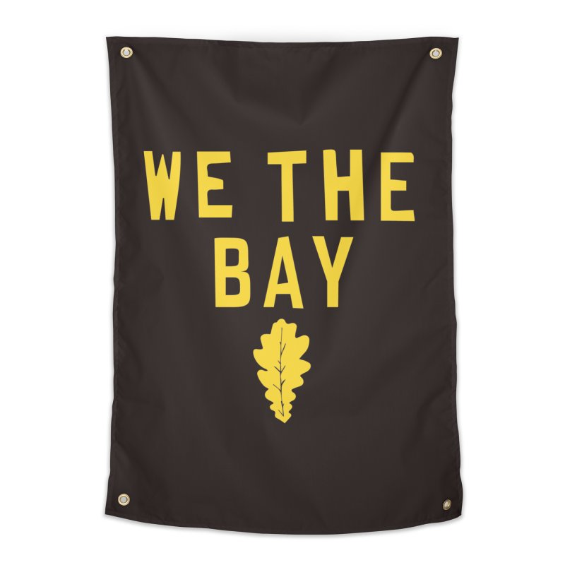 We The Bay Home Tapestry by Mike Hampton's T-Shirt Shop