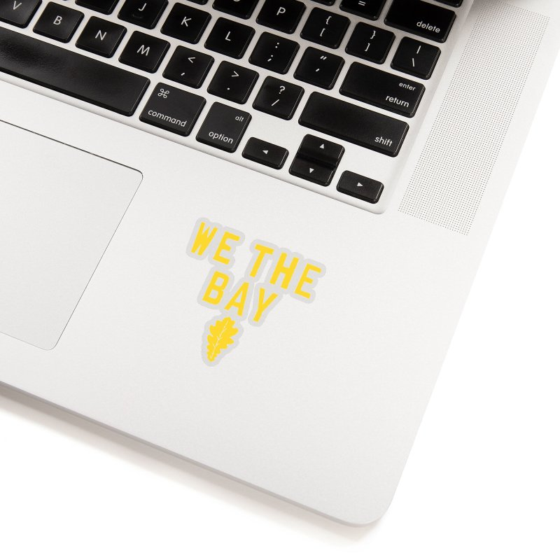 We The Bay Accessories Sticker by Mike Hampton's T-Shirt Shop