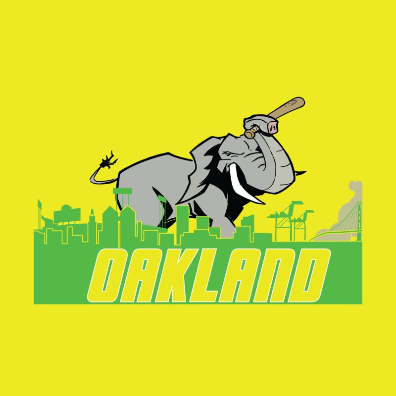 Oakland Men's T-Shirt by Mike Hampton's T-Shirt Shop