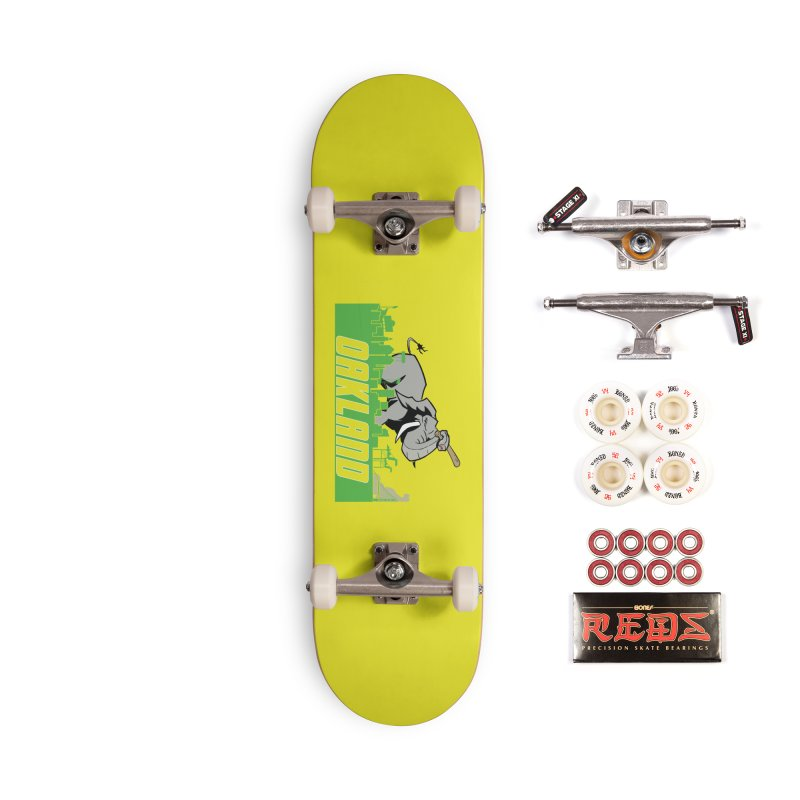 Oakland Accessories Complete - Pro Skateboard by Mike Hampton's T-Shirt Shop