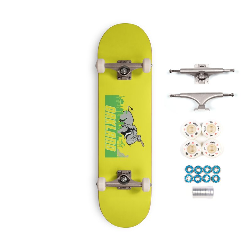 Oakland Accessories Complete - Premium Skateboard by Mike Hampton's T-Shirt Shop