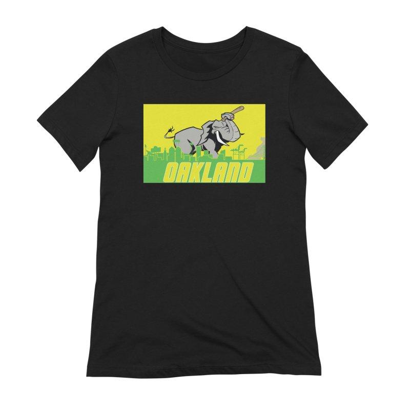 Oakland Women's T-Shirt by Mike Hampton's T-Shirt Shop