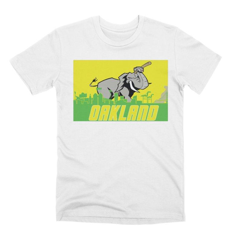 Oakland Men's T-Shirt by Mike Hampton's T-Shirt Shop
