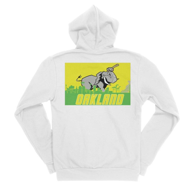 Oakland Women's Zip-Up Hoody by Mike Hampton's T-Shirt Shop