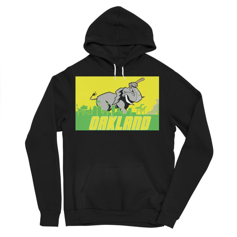 Oakland Men's Sponge Fleece Pullover Hoody by Mike Hampton's T-Shirt Shop