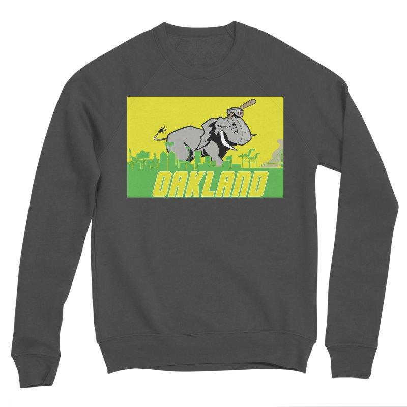 Oakland Men's Sponge Fleece Sweatshirt by Mike Hampton's T-Shirt Shop