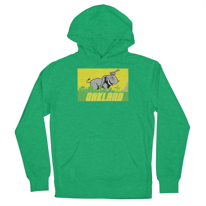 Oakland Men's Pullover Hoody by Mike Hampton's T-Shirt Shop