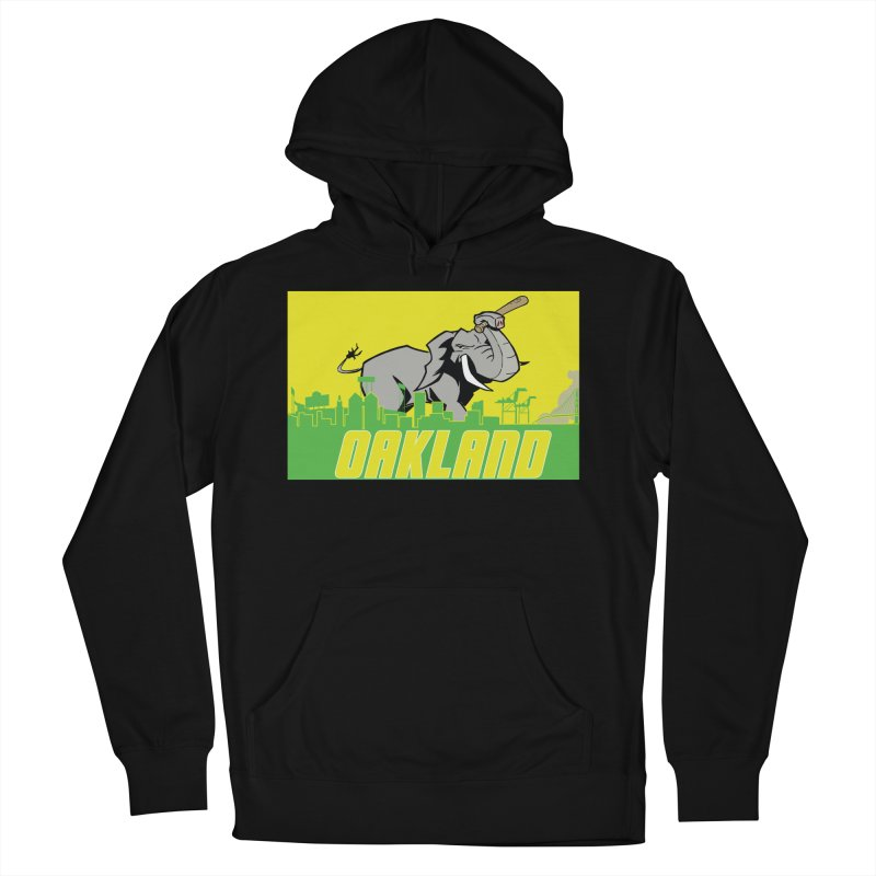 Oakland Women's French Terry Pullover Hoody by Mike Hampton's T-Shirt Shop