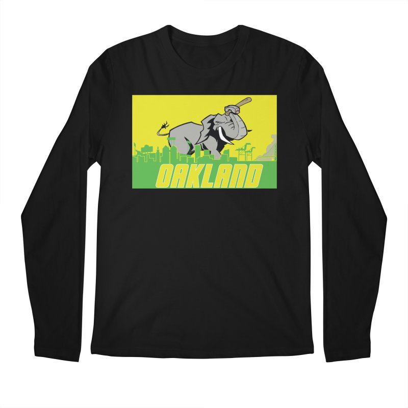 Oakland Men's Longsleeve T-Shirt by Mike Hampton's T-Shirt Shop