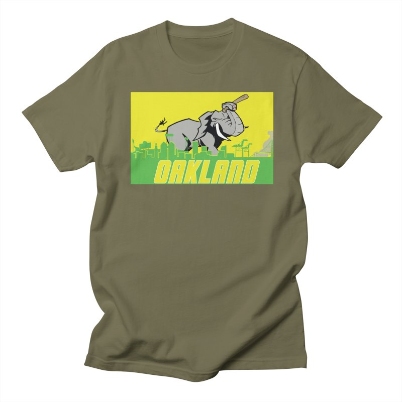 Oakland Women's Regular Unisex T-Shirt by Mike Hampton's T-Shirt Shop