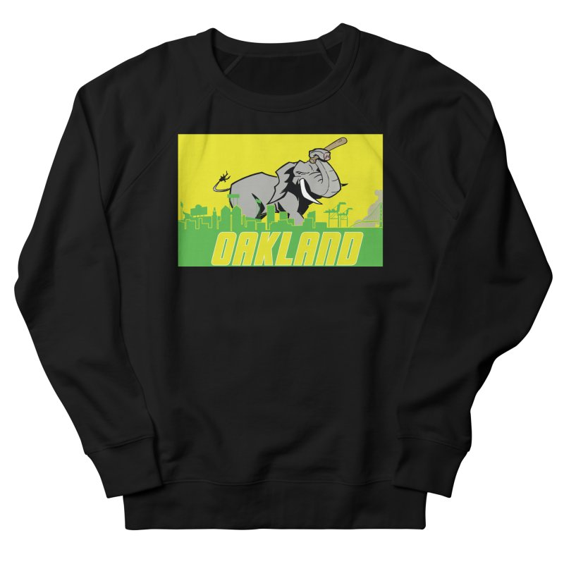 Oakland Women's French Terry Sweatshirt by Mike Hampton's T-Shirt Shop
