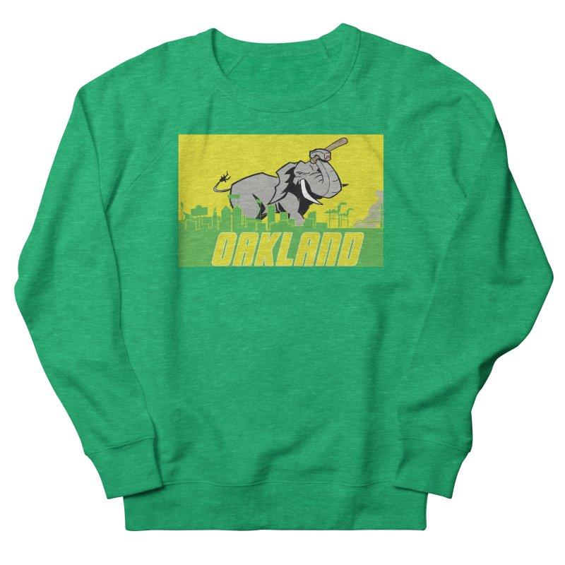 Oakland Men's French Terry Sweatshirt by Mike Hampton's T-Shirt Shop