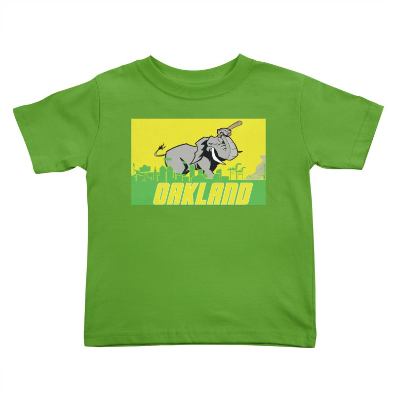 Oakland Kids Toddler T-Shirt by Mike Hampton's T-Shirt Shop