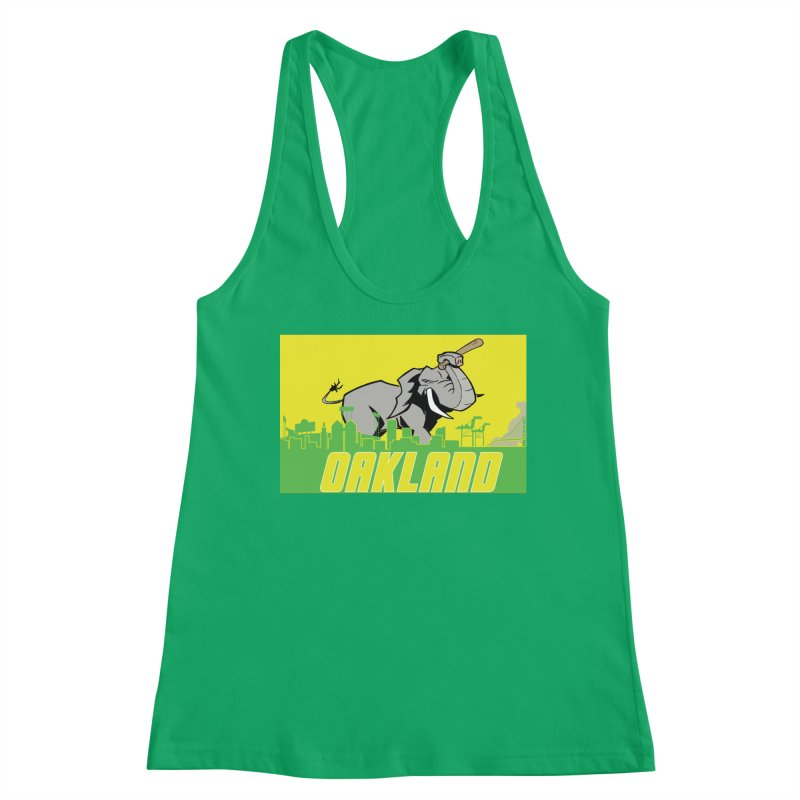 Oakland Women's Tank by Mike Hampton's T-Shirt Shop