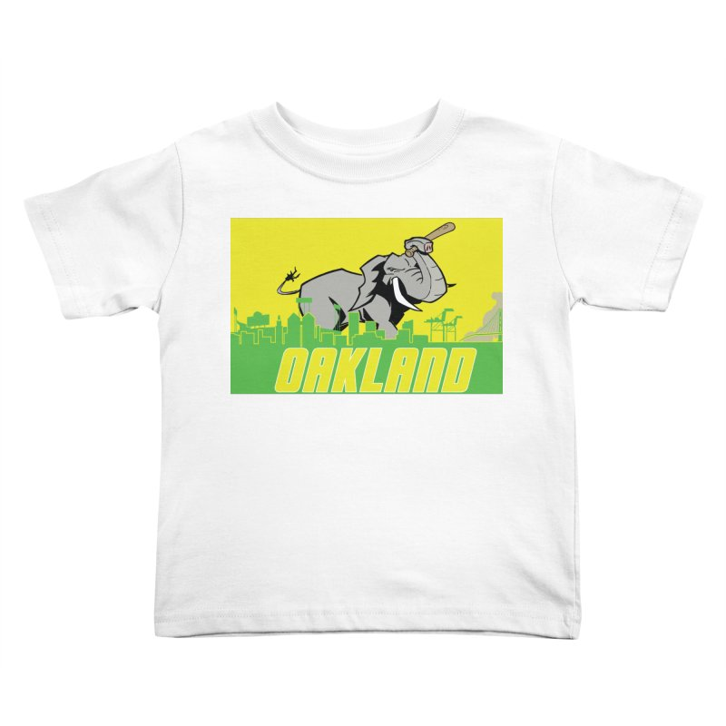 Oakland Kids Toddler T-Shirt by Mike Hampton's T-Shirt Shop