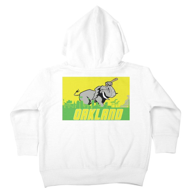 Oakland Kids Toddler Zip-Up Hoody by Mike Hampton's T-Shirt Shop