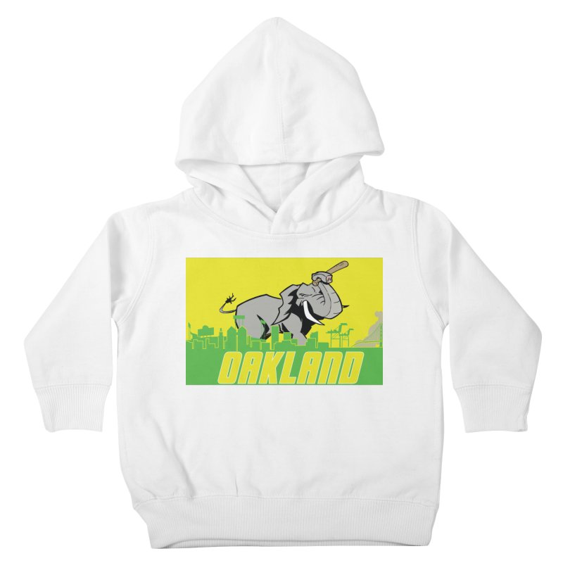 Oakland Kids Toddler Pullover Hoody by Mike Hampton's T-Shirt Shop